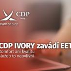 CDP IVORY zavádí EET: Komfort ani kvalitu služeb to neovlivní