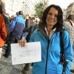 Žadatelka o kotlíkovou dotaci ve Středočeském kraji, kde další výzvu zatím nechystají. Vystačit si Pražané musejí s Čistou energií. FOTO: Radek Plavecký, Právo