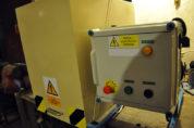 Přístroj pro měření mechanické odolnosti (odrolu) pelet ENplus