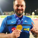 Nikdy se nevzdávám, říká atletický rekordman Jaroslav Petrouš