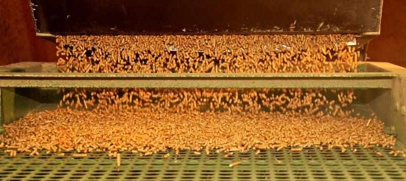 Výroba dřevěných pelet